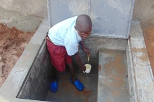 The Water Project: Kipchorwa Primary School -  Getting A Fresh Drink