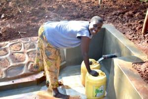 The Water Project: Shikhombero Community, Atondola Spring -  Happy Day
