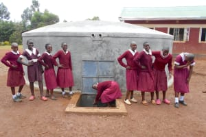 The Water Project: Ebukhuliti Primary School -  Enjoying A Bit Of Laughter