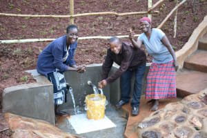 The Water Project: Busichula Community, Marko Spring -  Happy Faces At Marko Spring