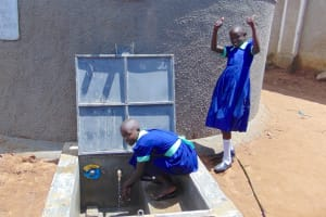 The Water Project: Mukama Primary School -  Hooray