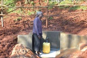 The Water Project: Shikhombero Community, Atondola Spring -  Happy Day At The Spring