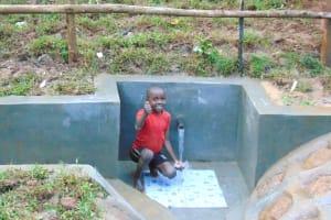 The Water Project: Kimarani Community, Kipsiro Spring -  Happy Day At The Spring