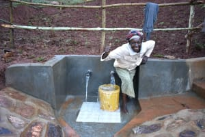 The Water Project: Busichula Community, Marko Spring -  Happy Faces At The Spring