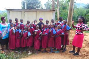 The Water Project: Kipchorwa Primary School -  Celebrating New Girls Latrines