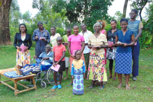 The Water Project: Buyangu Community, Mukhola Spring -  All Smiles With Training Complete