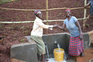 The Water Project: Busichula Community, Marko Spring -  Happy Faces On Site