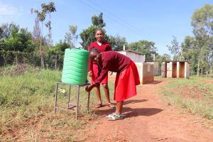 The Water Project: Ebukhuliti Primary School -  Handwashing
