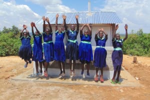 The Water Project: Mukama Primary School -  Jump For Joy With New Latrines