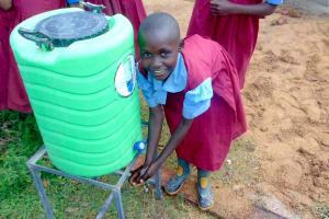 The Water Project: Kipchorwa Primary School -  Handwashing