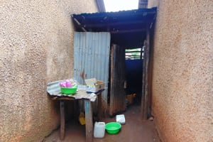 The Water Project: Kitagwa Primary School -  Outside The Kitchen