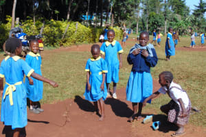 The Water Project: Gimomoi Primary School -  Pupils Playing During Break