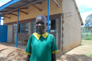 The Water Project: St. Peters Bwanga Primary School -  Student Janet