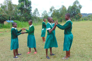 The Water Project: Galona Primary School -  Pupils On The Playground