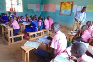 The Water Project: Gimengwa Primary School -  Students In Class