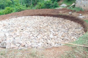 The Water Project: Kipchorwa Primary School -  Stone Foundation Set