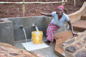 The Water Project: Busichula Community, Marko Spring -  Happiness For Marko Spring