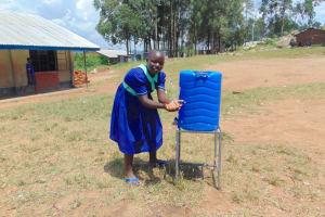 The Water Project: Mukama Primary School -  Splash Clean Hands