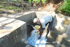The Water Project: Imbinga Community, Imbinga Spring -  Happy Day