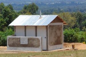 The Water Project: Mukama Primary School -  New Latrine Block