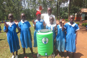 The Water Project: St. Joseph's Lusumu Primary School -  Thanks For The Handwashing Stations