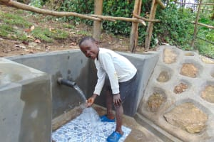 The Water Project: Buyangu Community, Mukhola Spring -  All Smiles