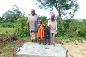 The Water Project: Imbinga Community, Imbinga Spring -  New Sanitation Platform Owners