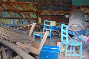 The Water Project: Gimengwa Primary School -  School Library And Storage