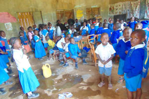 The Water Project: Jamulongoji Primary School -  Early Childhood Development Students In Class