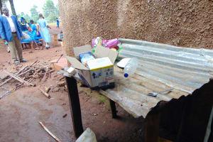 The Water Project: Kitagwa Primary School -  Dishrack