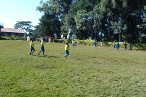 The Water Project: Gimomoi Primary School -  Pupils Playing