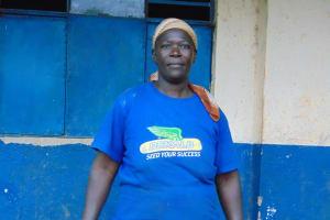 The Water Project: Kapsegeli KAG Primary School -  School Board Chair Ann Asega