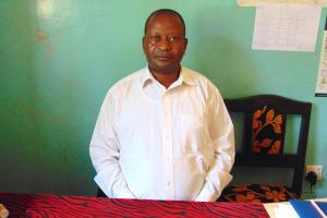 The Water Project: Gimengwa Primary School -  Head Teacher Wison Jarega