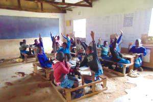 The Water Project: St. Joakim Buyangu Primary School -  Pupils In Class