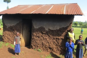 The Water Project: Mwikhupo Primary School -  Outside The Kitchen