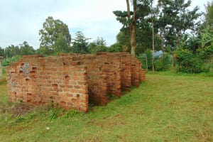 The Water Project: Kitagwa Primary School -  Partially Completed Latrines
