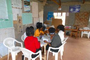 The Water Project: Wavoka Primary School -  School Staff At Work In The Teachers Room