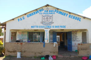The Water Project: Gimarakwa Primary School -  Administration Office