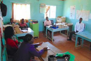 The Water Project: Gimengwa Primary School -  Teachers In Staffroom
