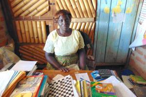 The Water Project: Jimarani Primary School -  Deputy Head Teacher Pamella Vugusta