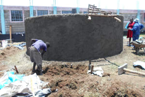 The Water Project: Ebukhayi Primary School -  Digging Access Point