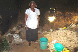 The Water Project: Mwikhupo Primary School -  School Cook Inside Kitchen