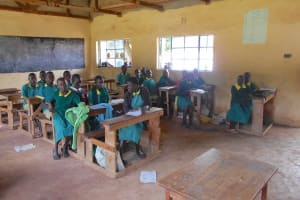 The Water Project: St. Peters Bwanga Primary School -  Students In Class