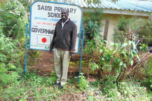 The Water Project: Saosi Primary School -  Headteacher Joseph Kiplimo