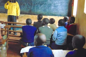 The Water Project: Kapsegeli KAG Primary School -  Students In Class