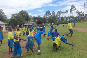 The Water Project: Isikhi Primary School -  Pupils Play On Break