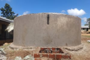 The Water Project: Mwichina Primary School -  Access Point Brickwork