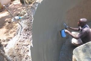 The Water Project: St. Joseph's Lusumu Primary School -  Plaster Work