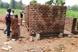 The Water Project: Mulwanda Mixed Primary School -  Latrine Construction