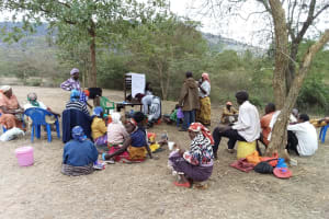 The Water Project: Utuneni Community B -  Training Discussion